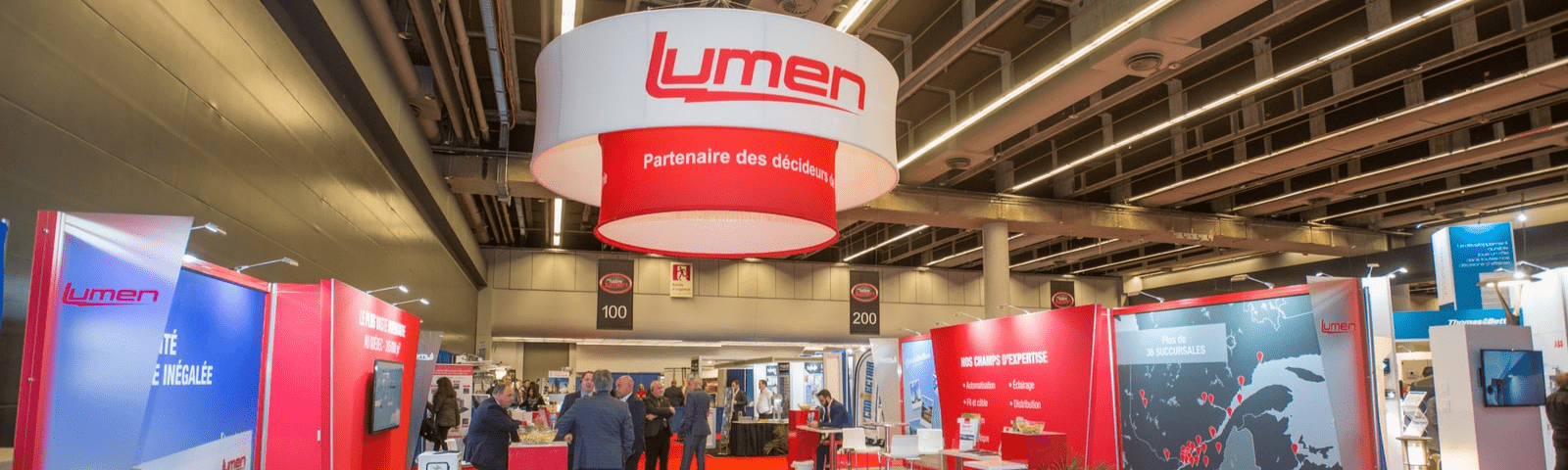 The largest exhibition for the electrical industry in Quebec