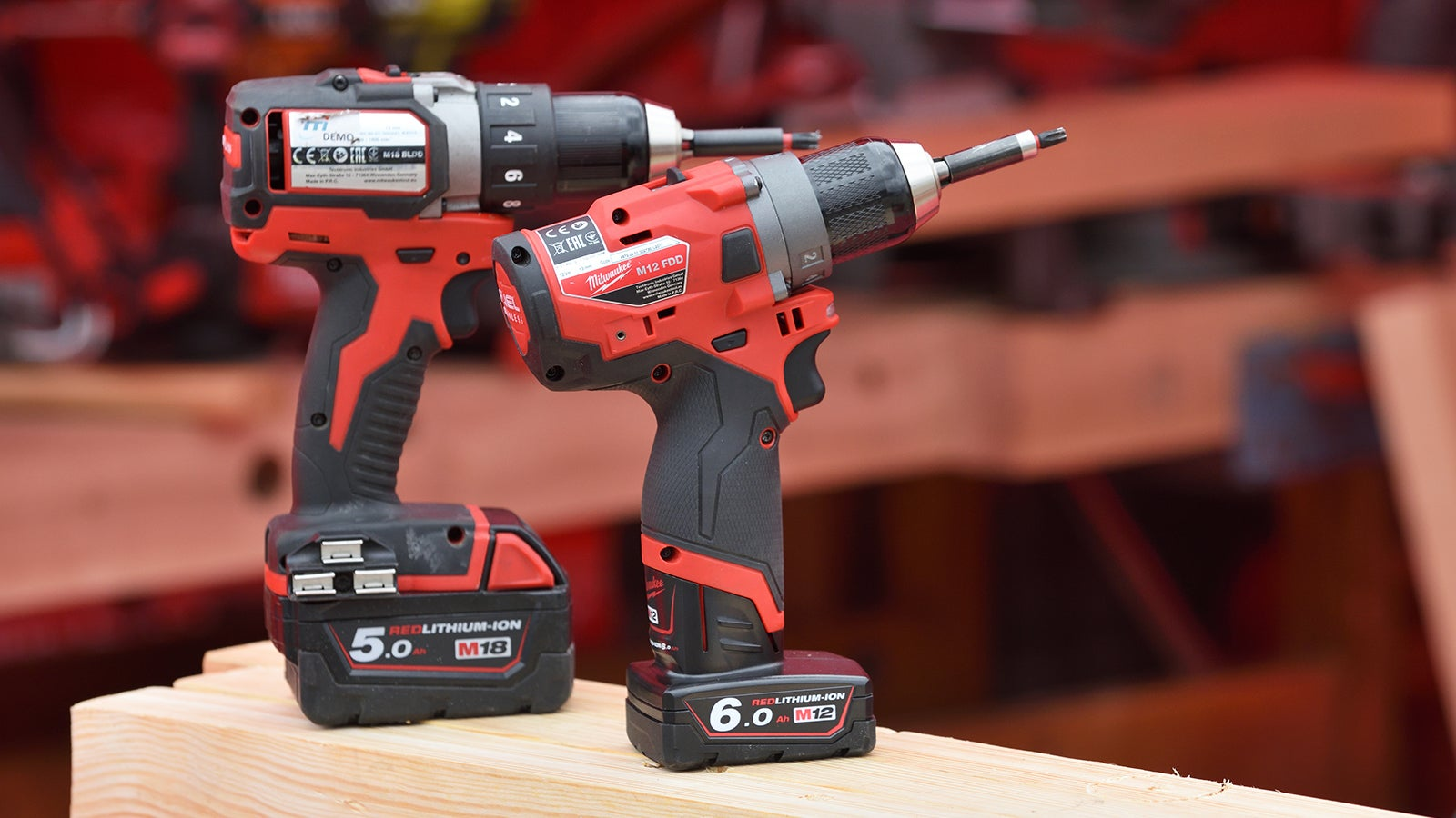 Milwaukee Wireless power tools