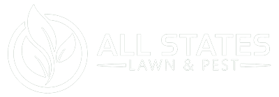 All States Lawn and Pest White Logo