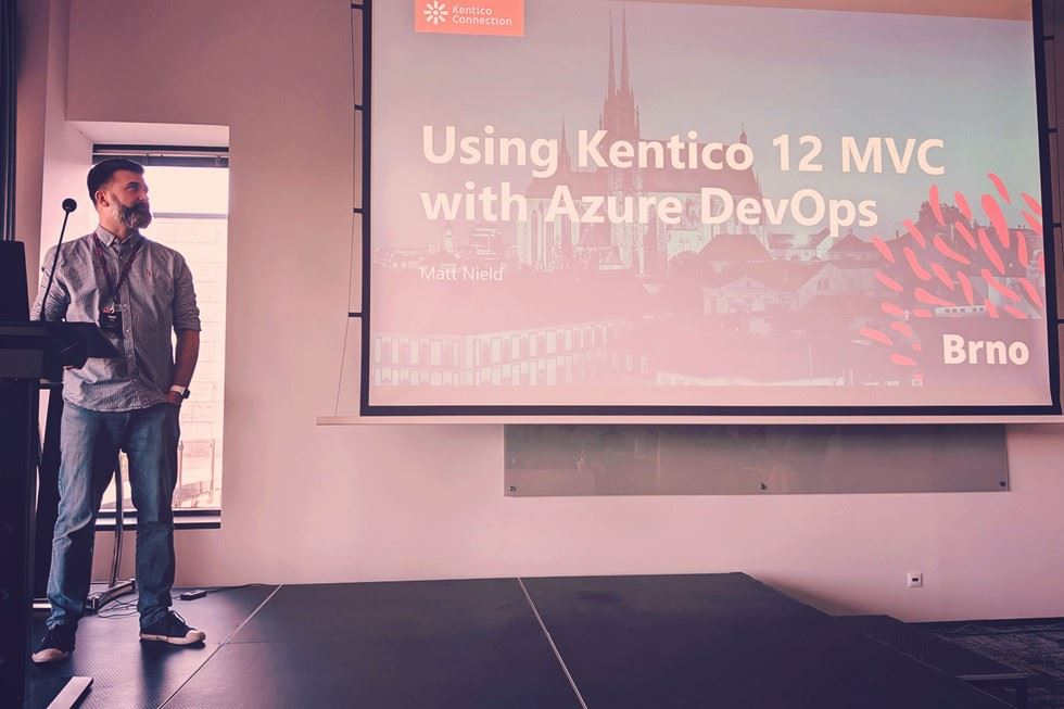 Using Kentico 12 MVC with Azure DevOps