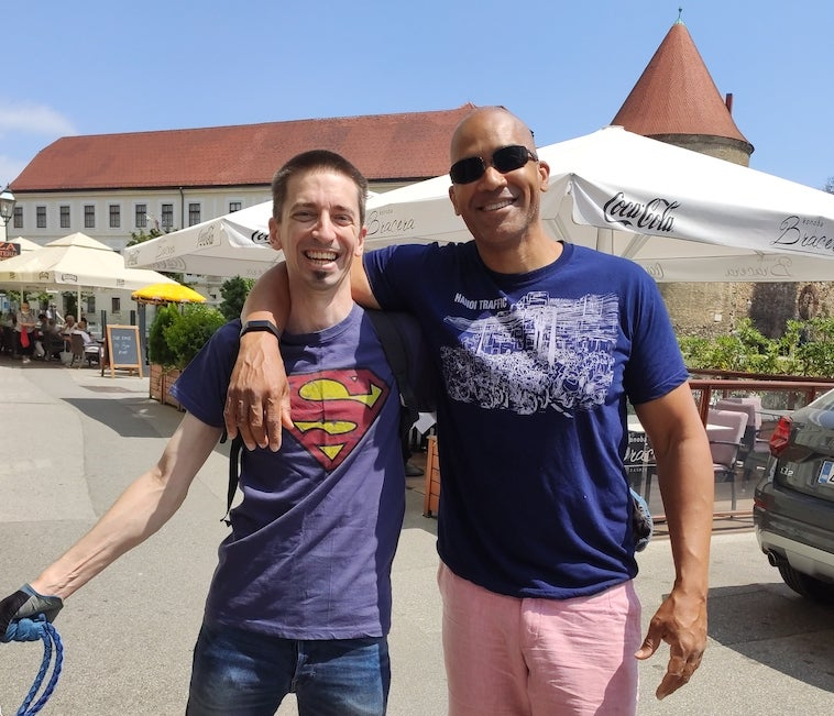 Andres Ramirez and Colleague Meeting in Zagreb, Croatia