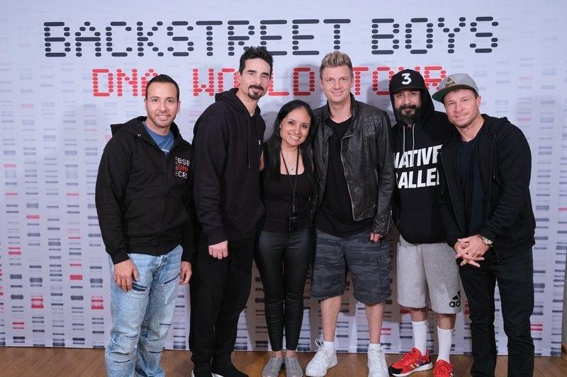 Ivina Acuña & Backstreet Boys #2