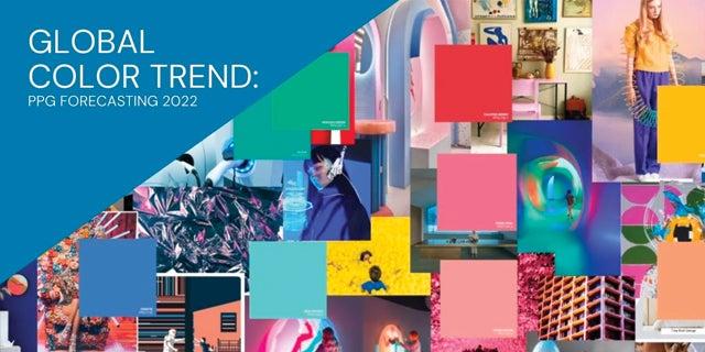 PPG 2022 Global Color Trend Forecasting