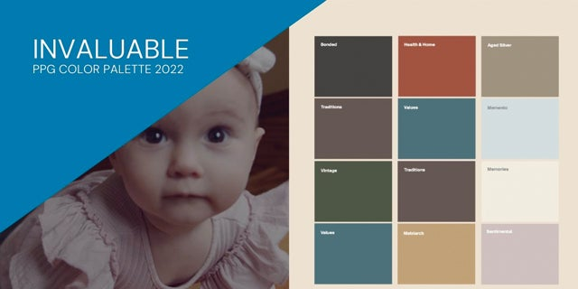 Invaluable: PPG Color Palette