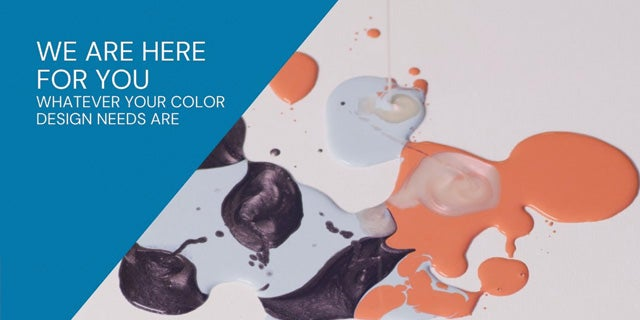 We are here for you whatever your color design needs are