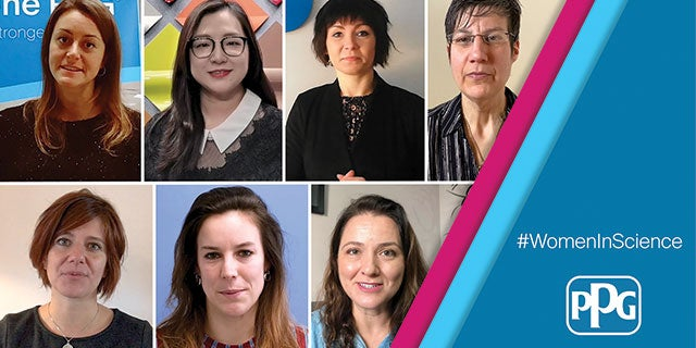 A group of PPG's outstanding women scientists in honor of the International Day of Women and Girls in Science.