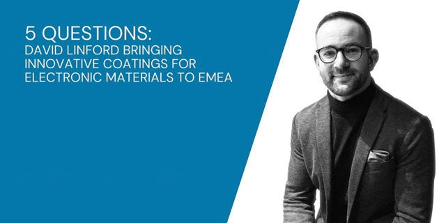 5 Questions: David on Growing Closer to Colleagues and Bringing Innovative Coatings to EMEA