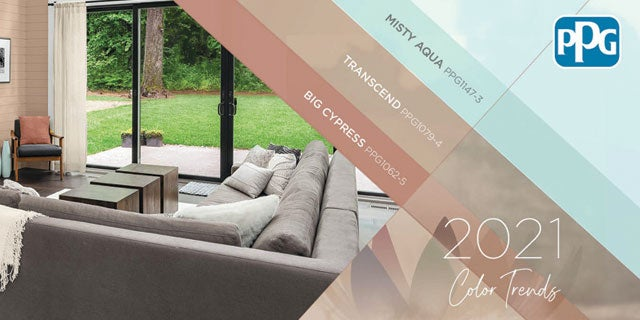 Embrace nostalgic neutrals, simple comforts: PPG announces 'Be Well' 2021 Palette of the Year
