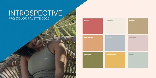 Introspective: Color Palettes 2022