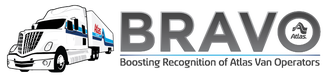BRAVO horizontal logo with truck