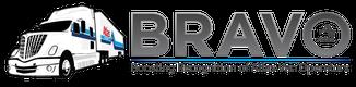 BRAVO horizontal logo with truck