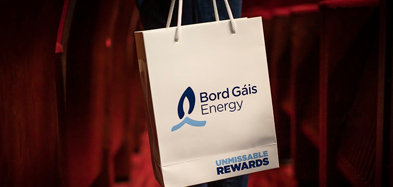 Bord Gáis Energy Theatre goodie bag