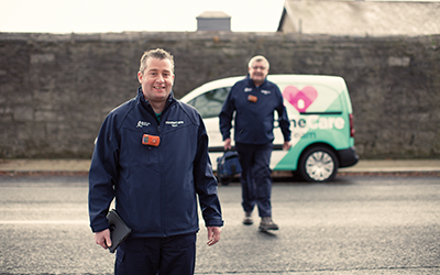 2 Bord Gáis Energy boiler service engineers