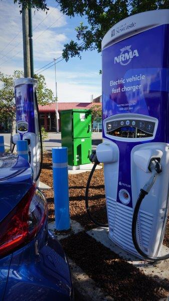 NRMA chargers installed