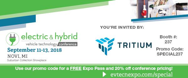 EV Tech Expo USA Invitation and promo code