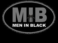 men in black logo