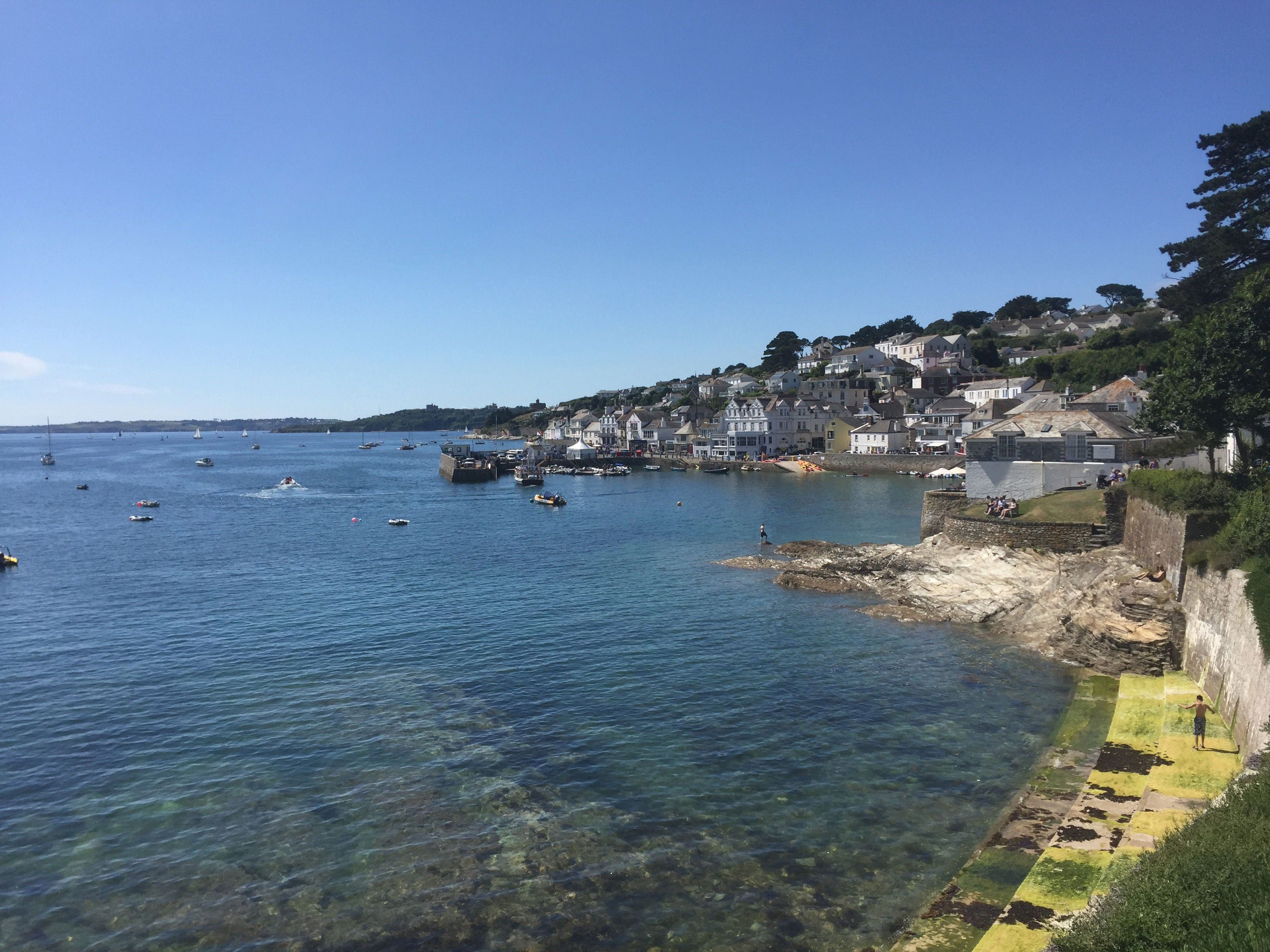 >Summer in St Mawes, Cornwall