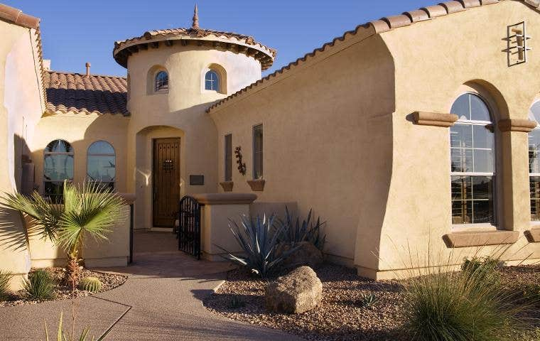 a nice house in new mexico
