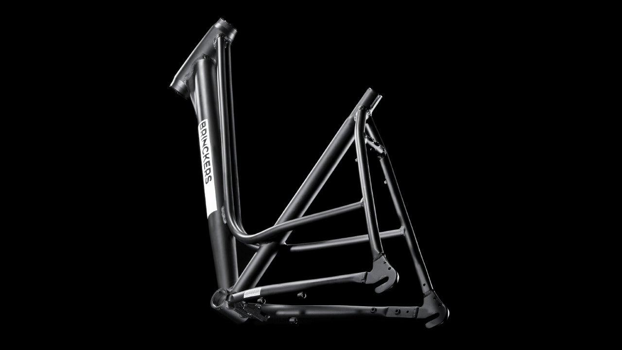 Brinckers fiets frame fotoshoot in de CMN fotostudio