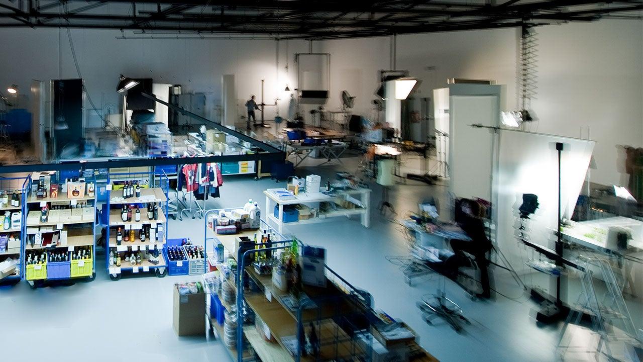 Fotografie van producten in the CMN Fotostudio in Haarlem