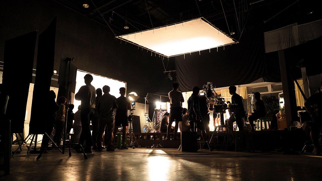 Grote fotoshoot in de studio van Creative Media Network te Haarlem