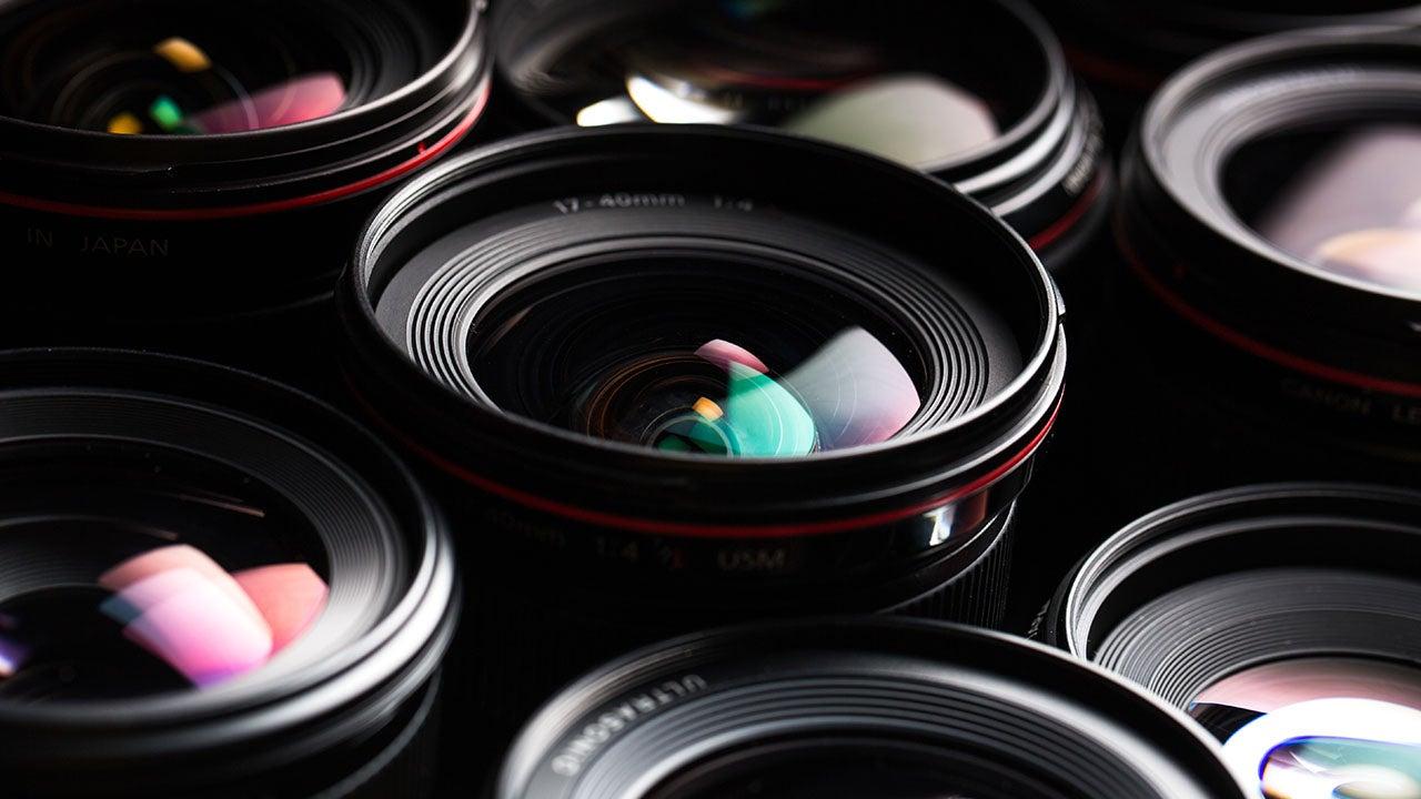 Fotografie camera lenzen van de CMN retail fotostudio Haarlem
