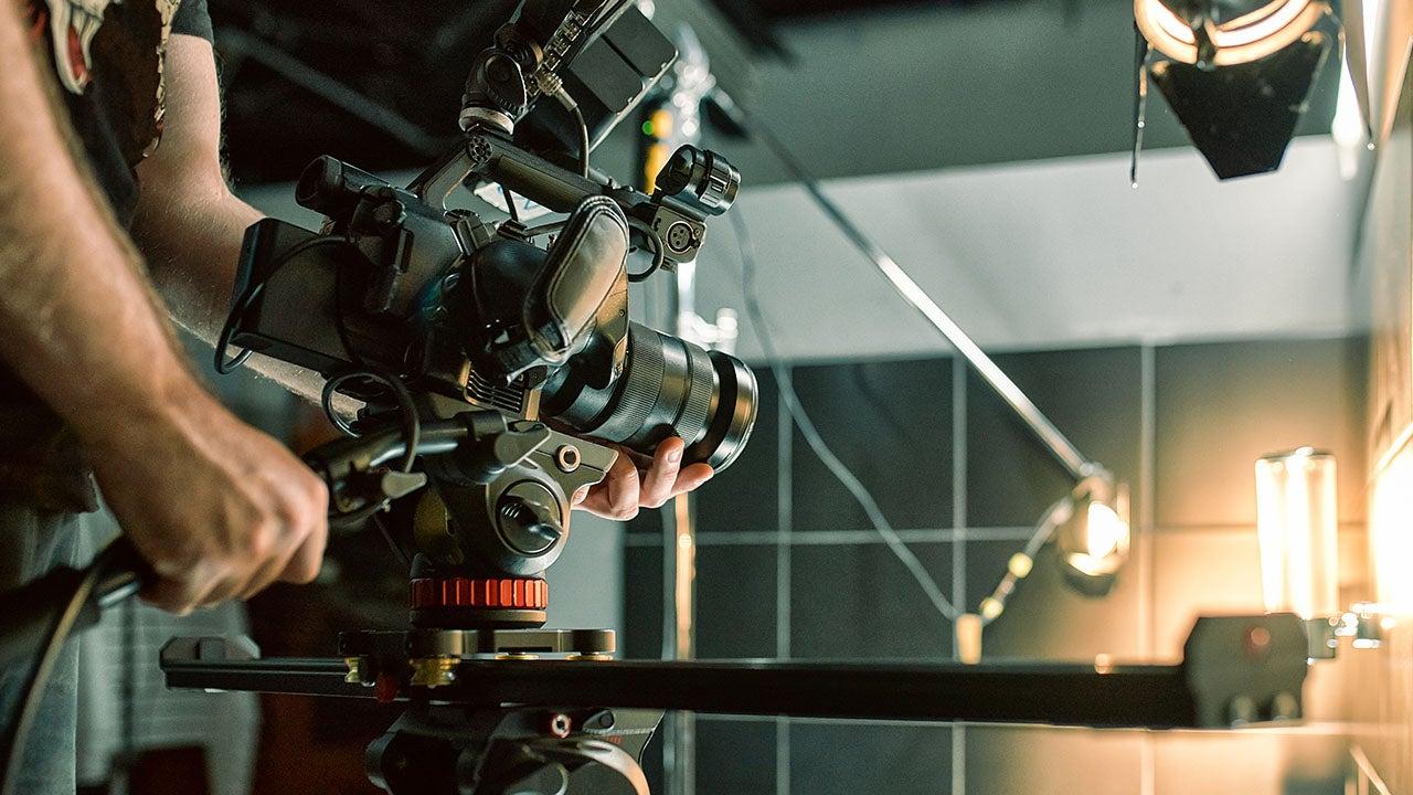 Productvideo opname in de CMN studio in Haarlem