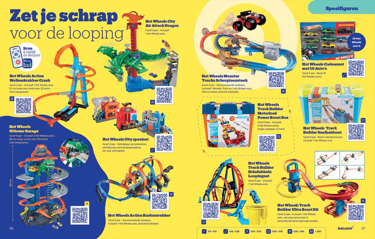 Door CMN opgemaakte pagina van het bol.com grote speelgoedboek