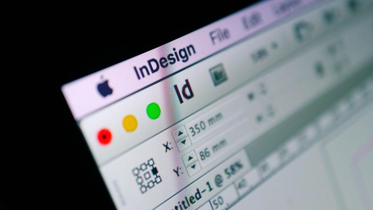 CMN DTP opmaak met Adobe Indesign voor Retail productie