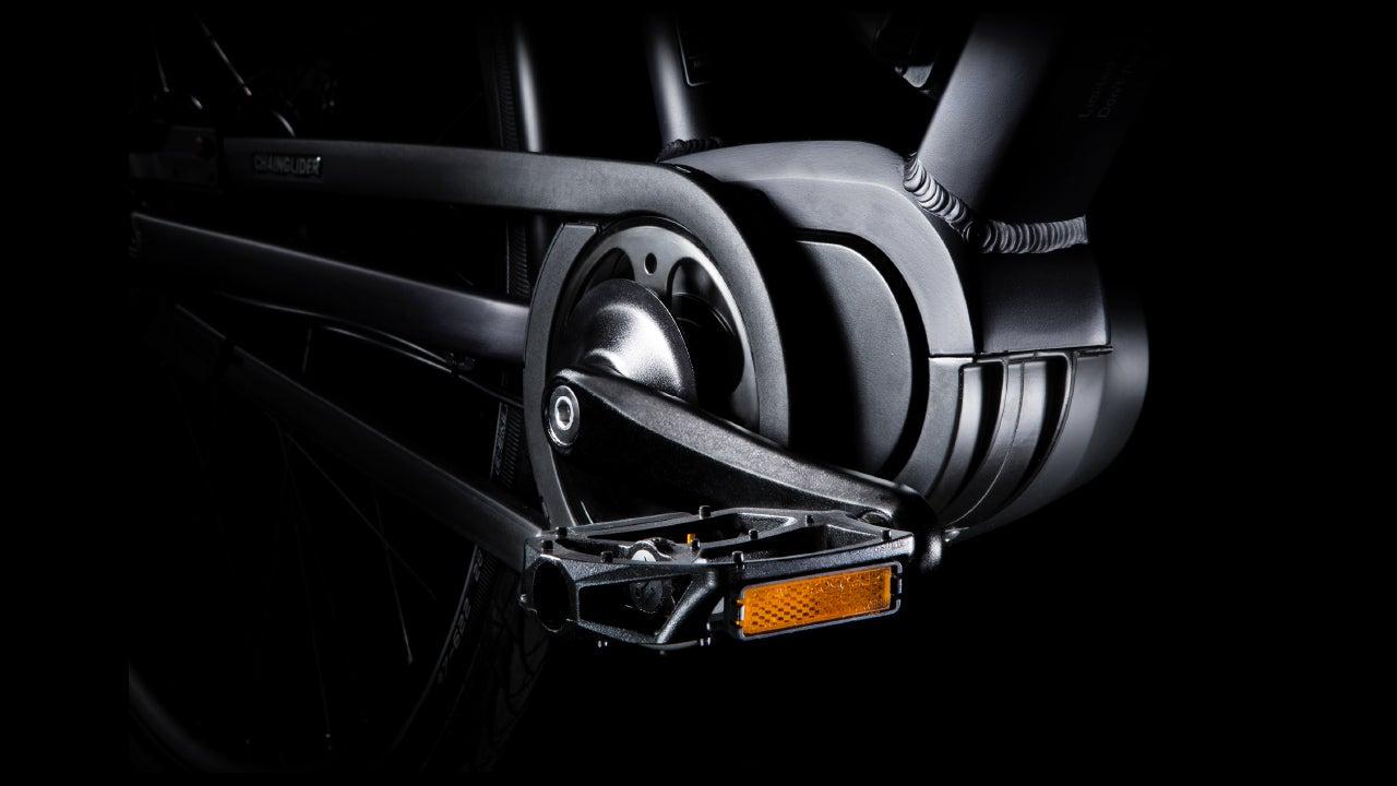 Brinckers fiets detail trappers fotoshoot in de CMN fotostudio