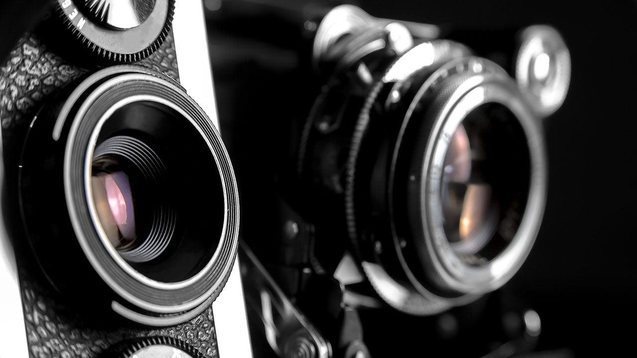 Klassieke camera's van de CMN retail fotostudio Haarlem