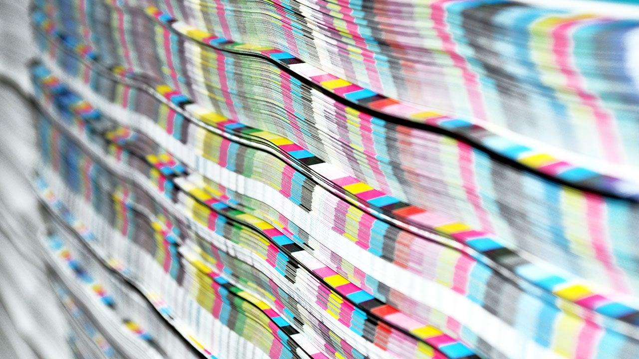 Prepress drukwerk controle bij CMN in Haarlem