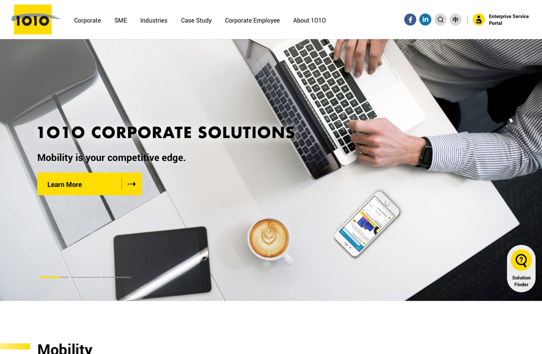 Creating a platform promoting Corporate Solutions for SME companies