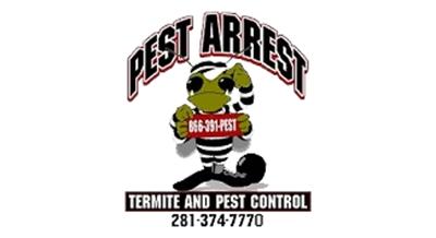 pest arrest logo with a white stroke