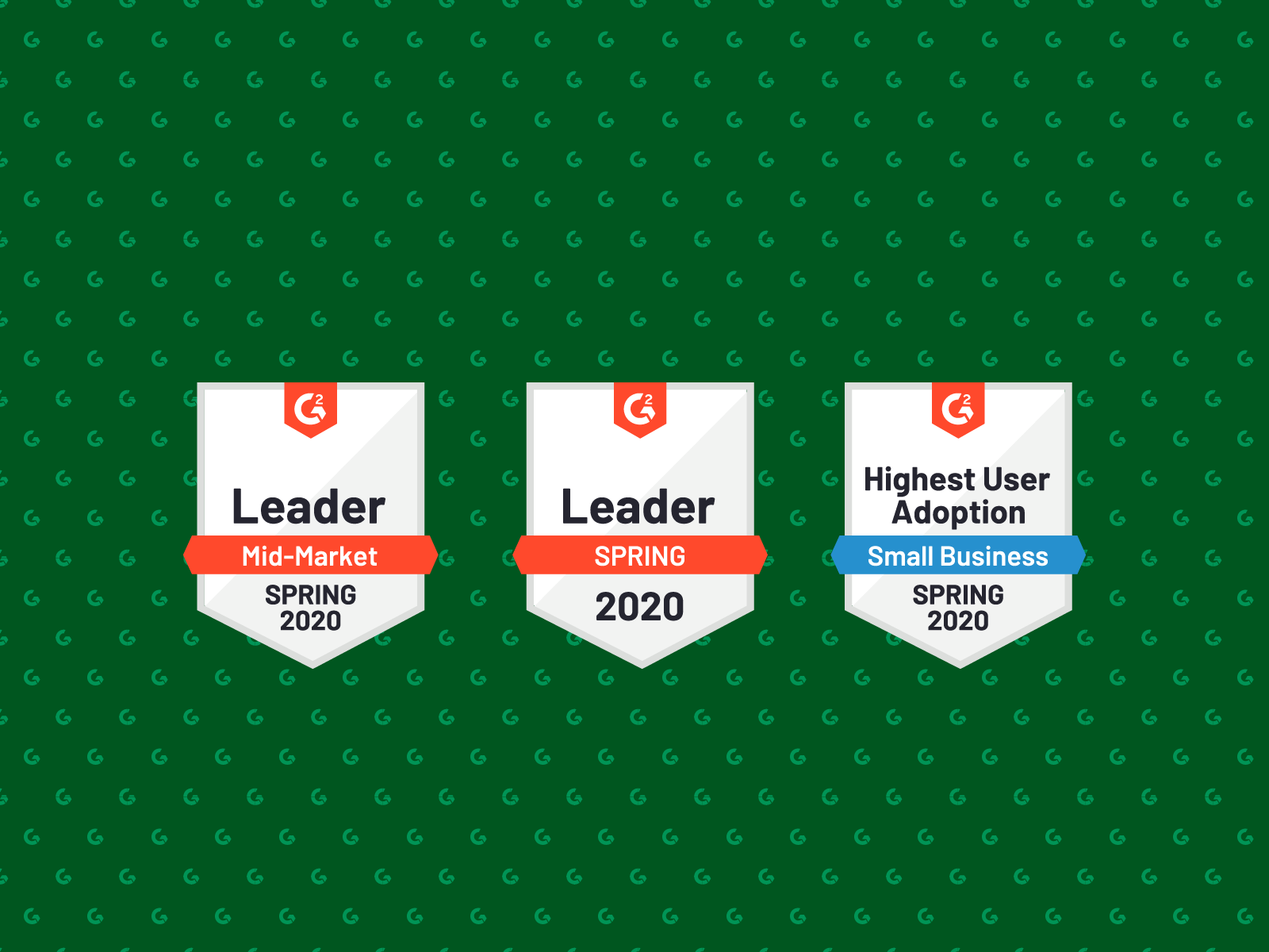 Kentico Xperience is awarded three G2 Spring 2020 badges