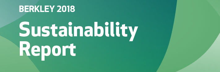 Image of Berkley 2018 Sustainability Report