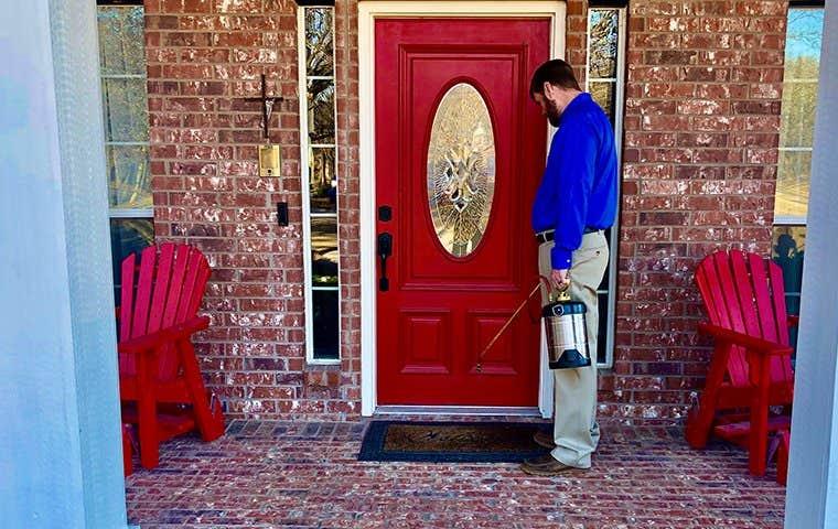 exterior spray treatment