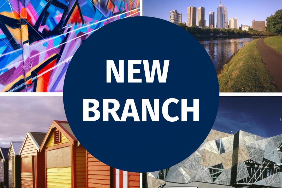 New branch in Melbourne, Victoria