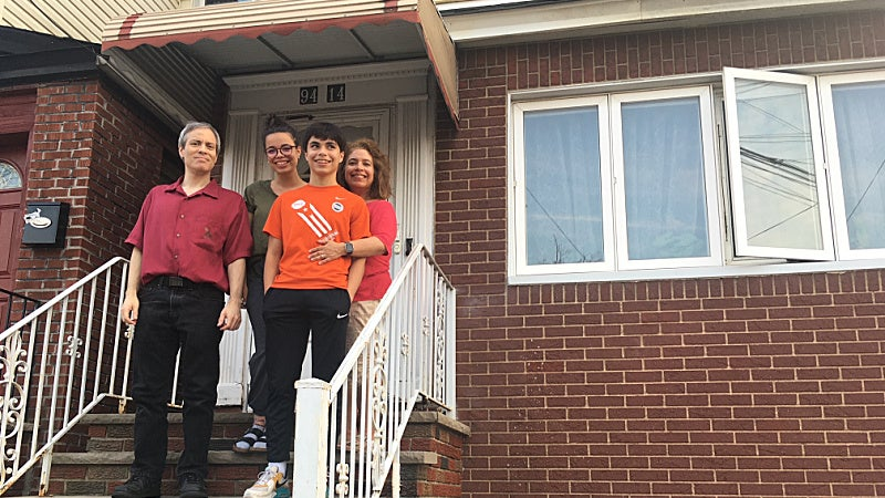 <p>Marisa Osorio moved back to live in her childhood home with her family&nbsp;</p>