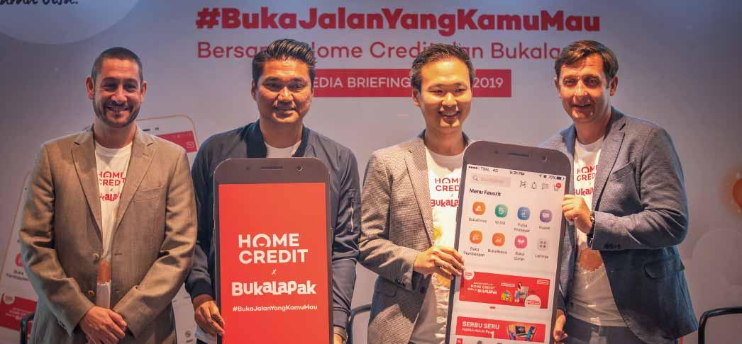 Kerjasama Home Credit dan Bukalapak