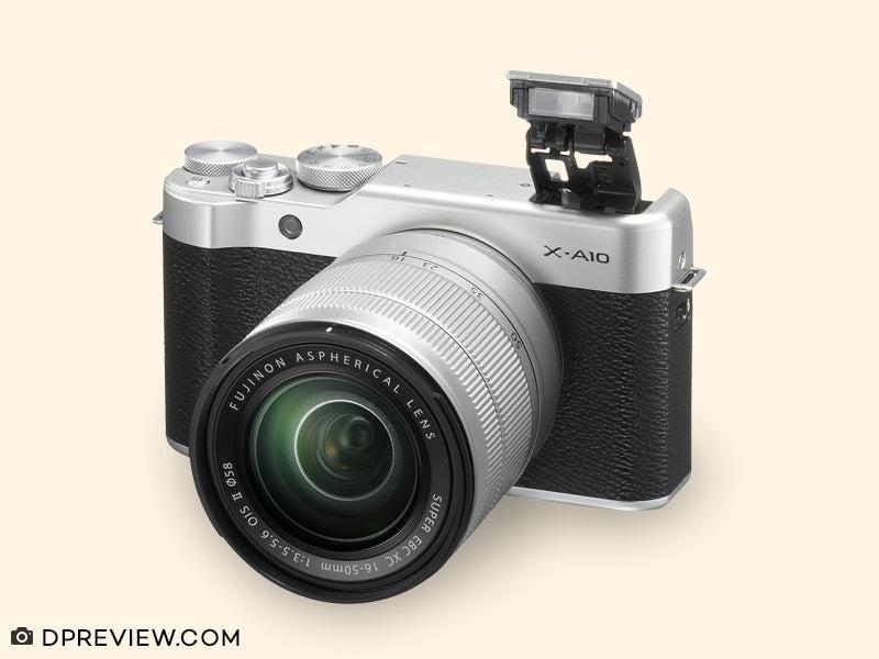 Kamera Mirrorless Fujifilm X A10 Kit 16 50 mm