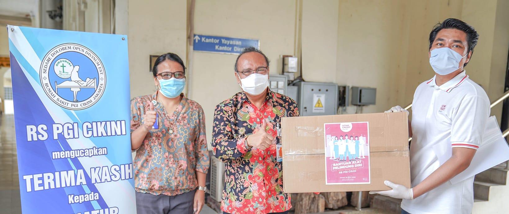 Home Credit Indonesia Tetap Berkomitmen untuk #LawanCOVID-19
