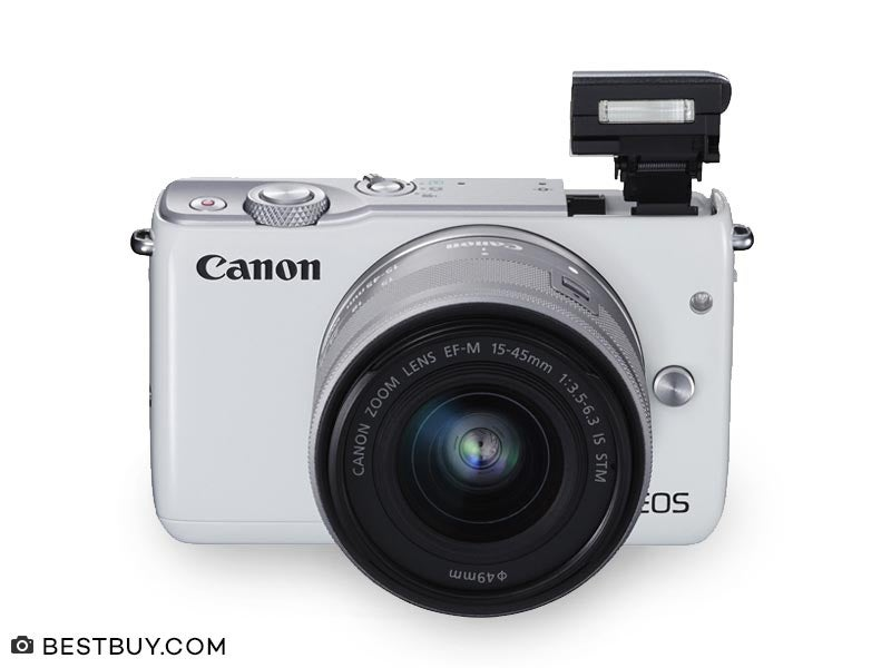 Kamera Canon EOS M10 Kit 15 45 mm