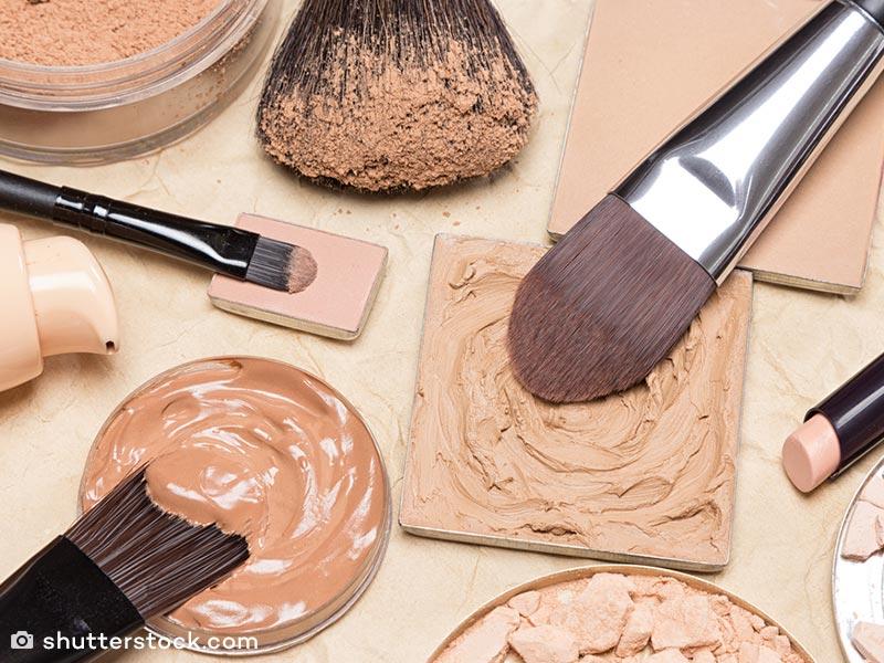 Foundation cream yang mencerahkan
