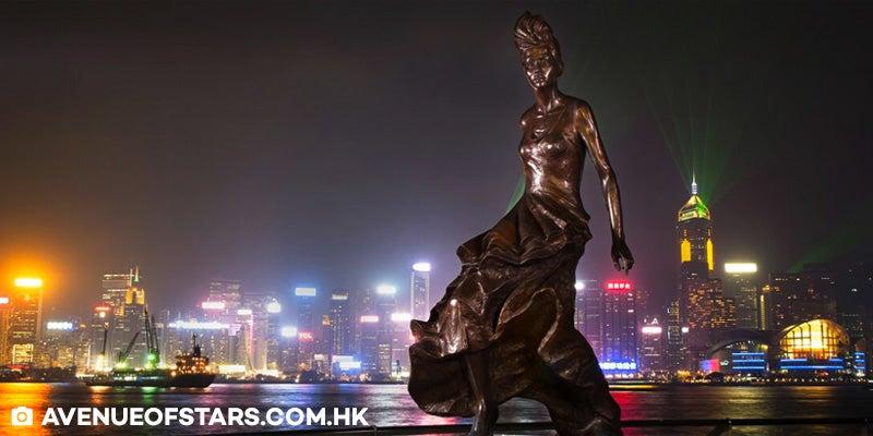 wisata hong kong ke avenue of stars