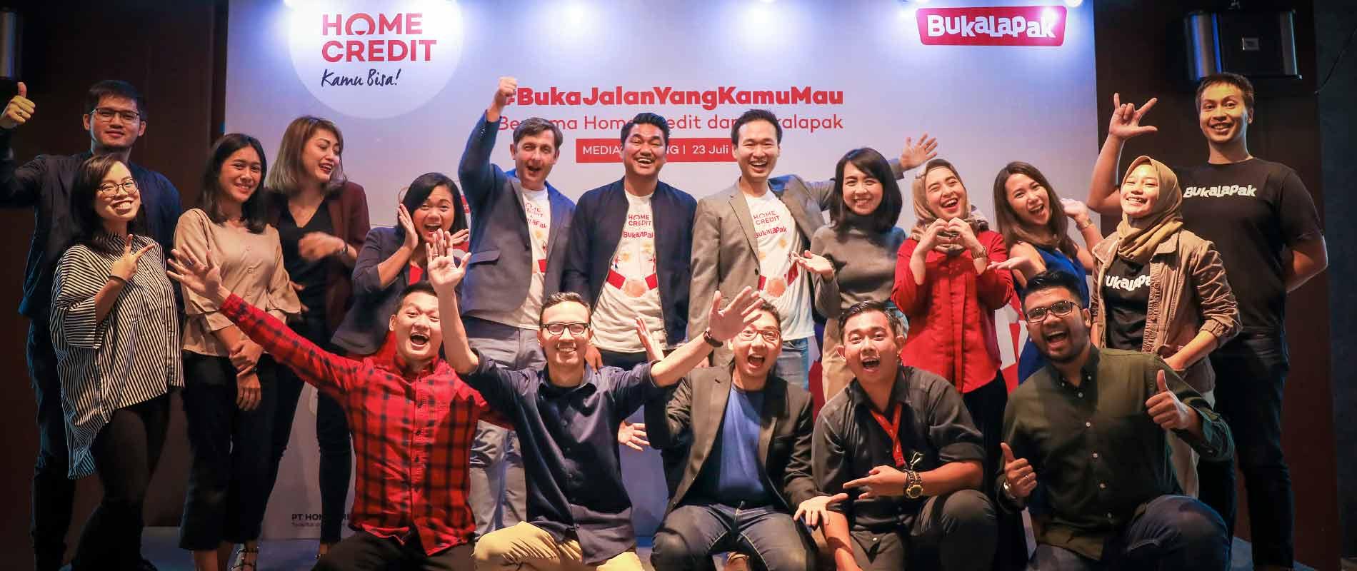 Gandeng Bukalapak, Home Credit Indonesia Bikin Akses Pembiayaan Online Makin Luas