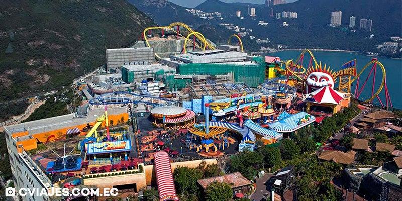 wisata hongkong terbaik ocean park