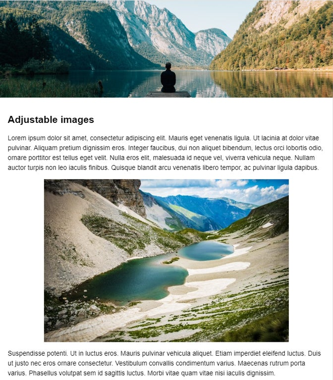 Screenshot showing what image transformation can do.