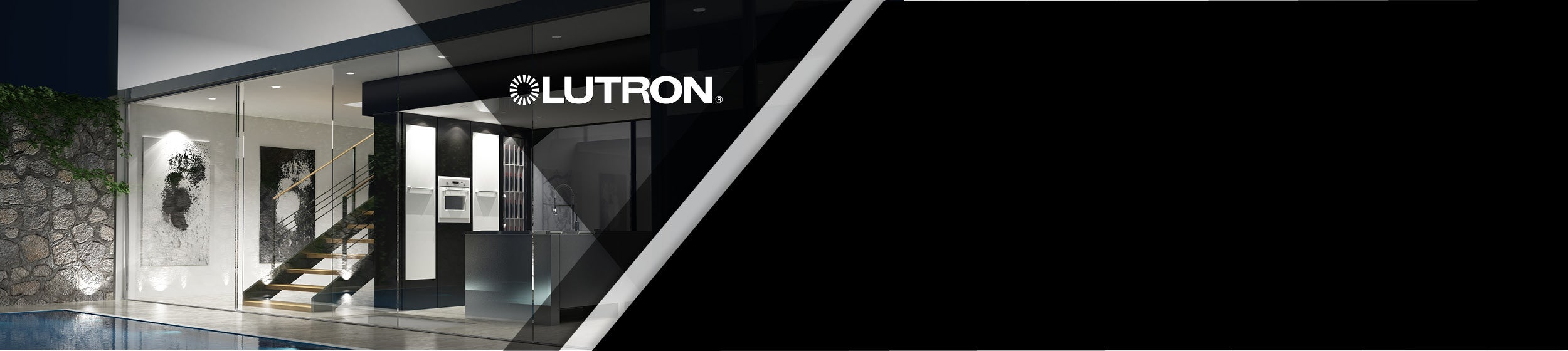Take control with lighting by Lutron.