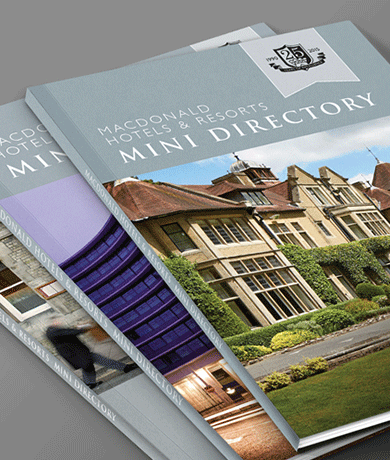 Macdonald Hotels Mini Directory Artwork